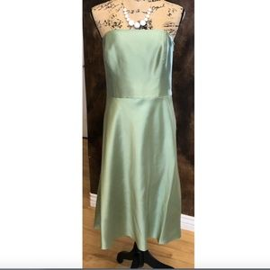 Ann Taylor Prom Dress Strapless Silk Wedding NWT
